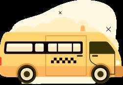 Стоимость транфера  Коктебель-Угловое на автобусе